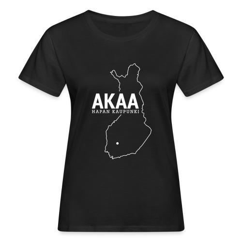 Kotiseutupaita - Akaa - Naisten luonnonmukainen t-paita