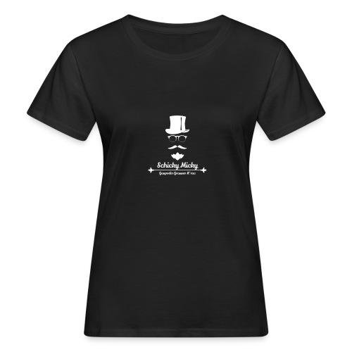 Schicky Micky Grosser K Weiss - Frauen Bio-T-Shirt