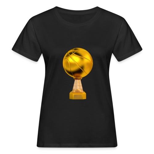 Basketball Golden Trophy - T-shirt bio Femme