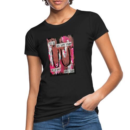 BOOBS print - Økologisk T-skjorte for kvinner