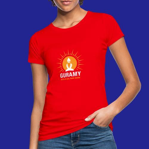final white con scritta CORRETTO - Women's Organic T-Shirt