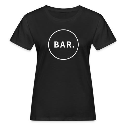 BAR Logo 1 farbig - Frauen Bio-T-Shirt