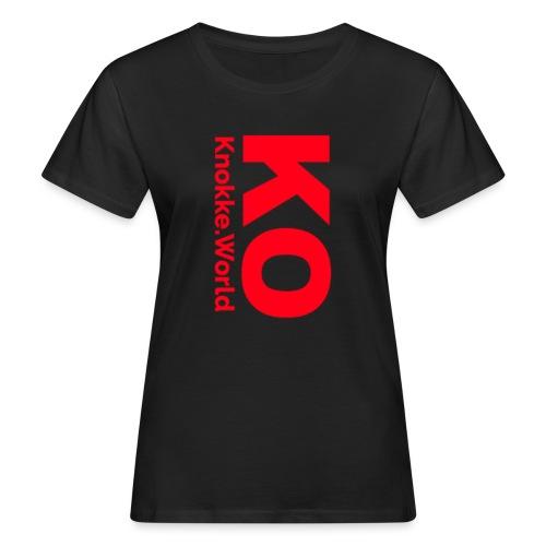 Knokke.World Pet - Vrouwen Bio-T-shirt