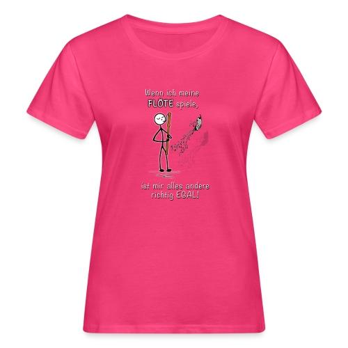 Recorder Love f. dark colours - Women's Organic T-Shirt