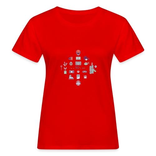lo mejor de los 90 - Camiseta ecológica mujer