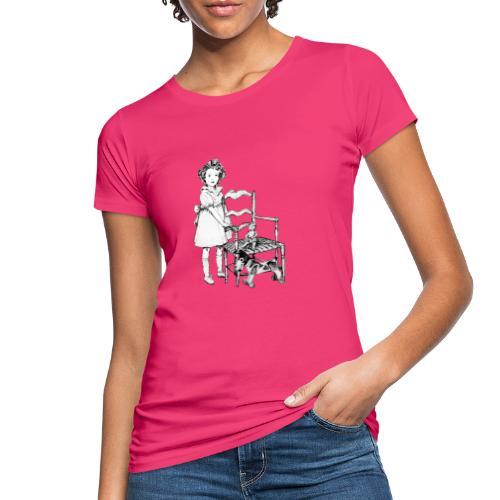 Nelly et sa chaise - T-shirt bio Femme