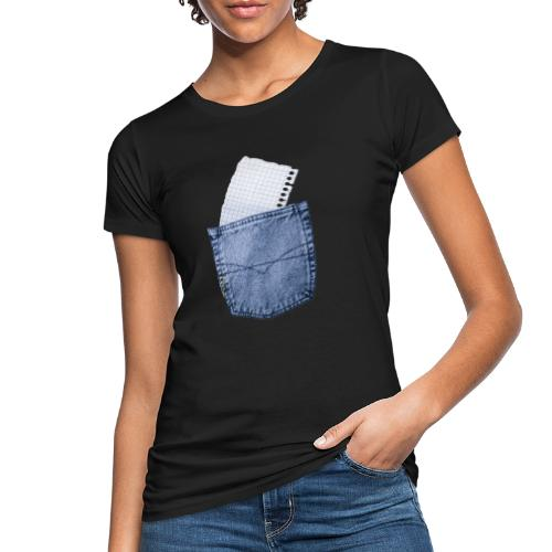 Jeans Baggy by #OneCreativeArts - Frauen Bio-T-Shirt