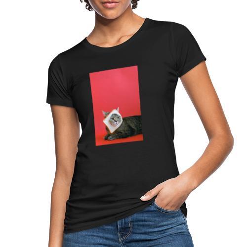 cute cat - Camiseta ecológica mujer