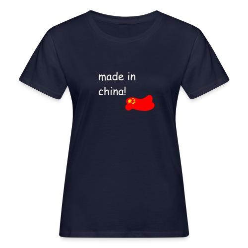 madeinchina - Camiseta ecológica mujer