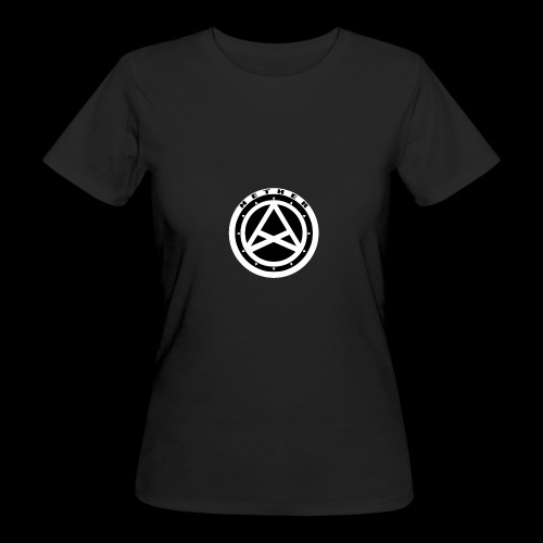 Nether Crew Black\White T-shirt - T-shirt ecologica da donna