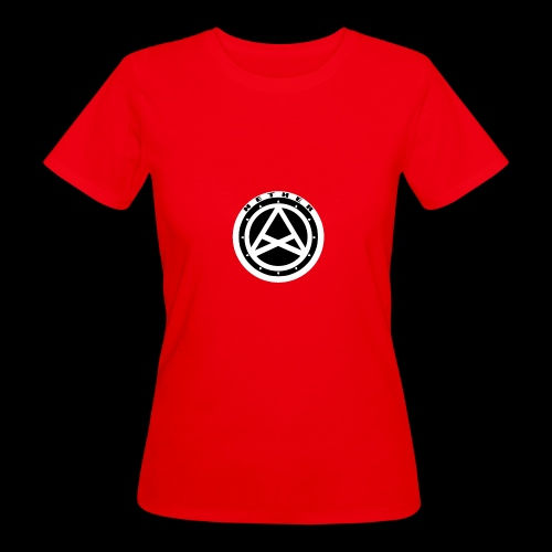 Nether Crew Black\White T-shirt - T-shirt ecologica da donna