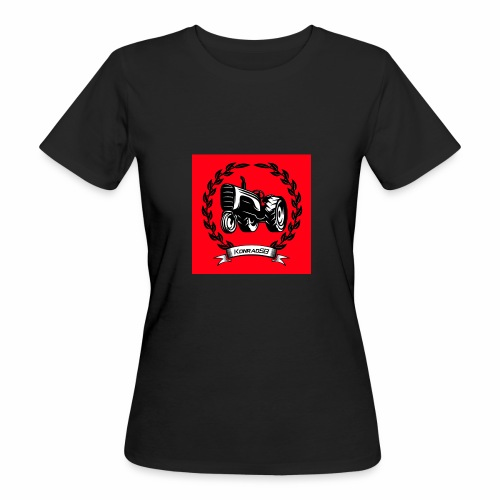 KonradSB czerwony - Ekologiczna koszulka damska