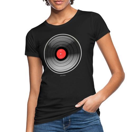 Vinyl Sunrise - Ekologiczna koszulka damska
