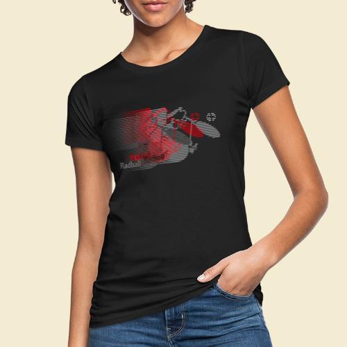 Radball | Earthquake Red - Frauen Bio-T-Shirt
