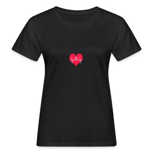 I love my Bike - Women's Organic T-Shirt