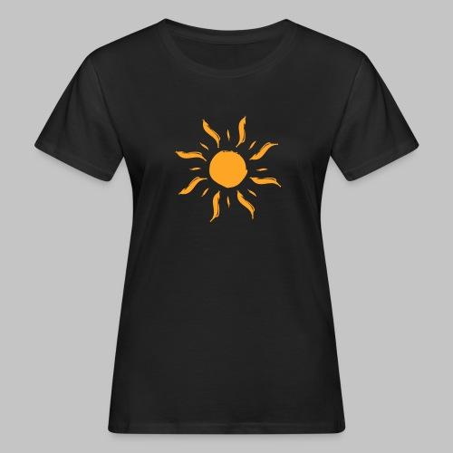 Sonne by ms-creative.com - Frauen Bio-T-Shirt