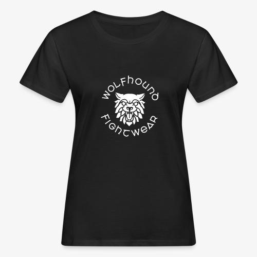 logo round w - Women's Organic T-Shirt