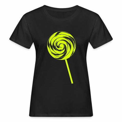 Retro Lolly - Frauen Bio-T-Shirt