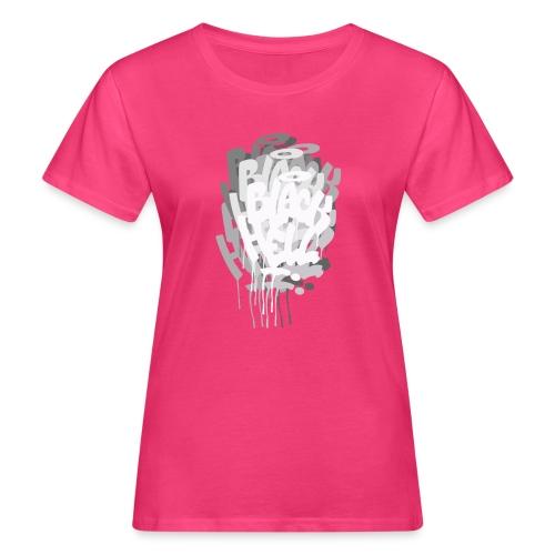 bombing-x grigio - T-shirt ecologica da donna