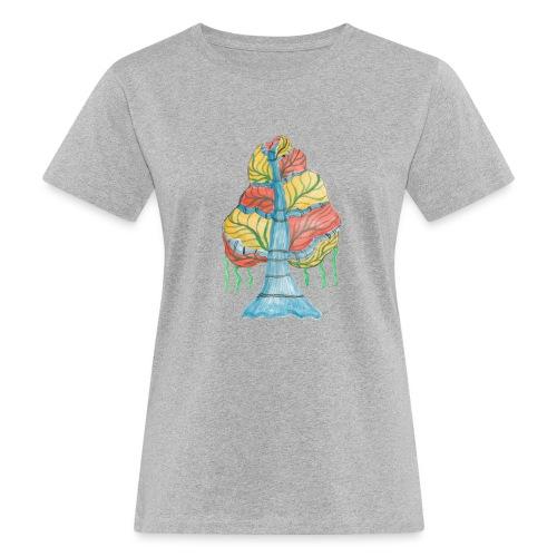 albero_alma_2015 - T-shirt ecologica da donna