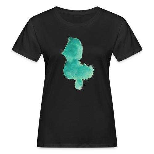 grünes Küken - Frauen Bio-T-Shirt