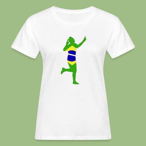 Neymár Brazil - Ekologisk T-shirt dam
