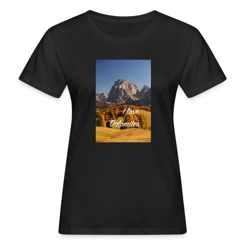 Langkofel - Wahrzeichen Südtirols - Frauen Bio-T-Shirt