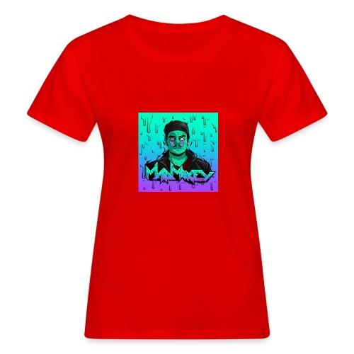 MadMikey Grime Art Sticky Green - Vrouwen Bio-T-shirt