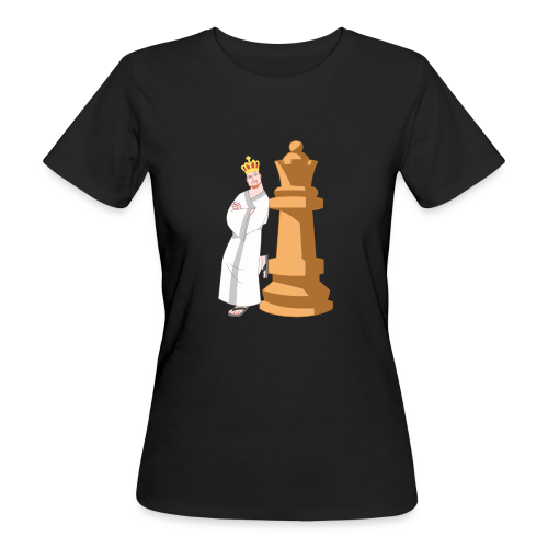 Samurai with Queen - Women's Organic T-Shirt