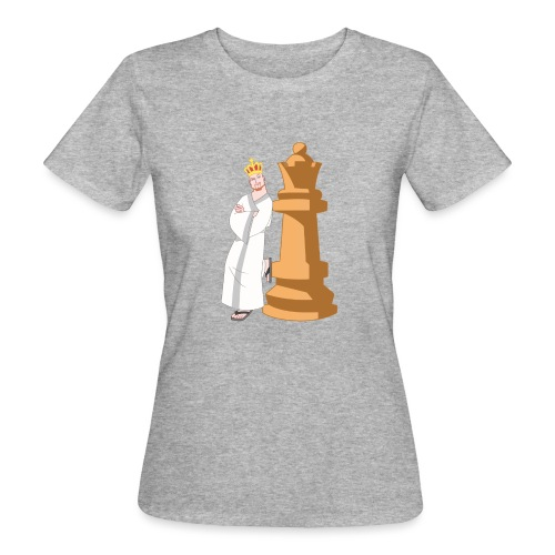 Samurai with Queen - Women's Organic T-Shirt