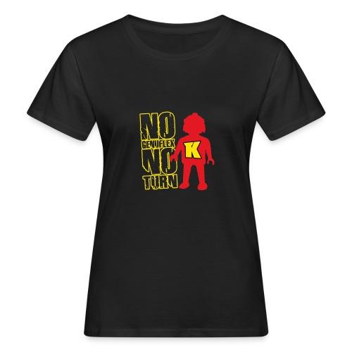 2017 nogenuflexnoturn2 - T-shirt bio Femme