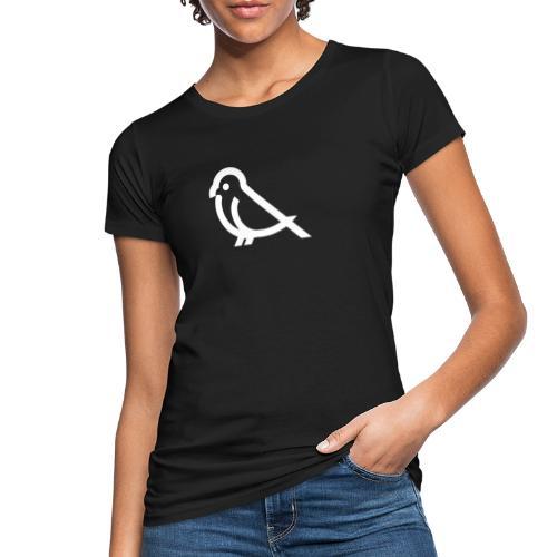 bird weiss - Frauen Bio-T-Shirt