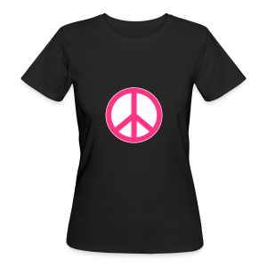 Peace, Love and Happiness - Vrouwen Bio-T-shirt