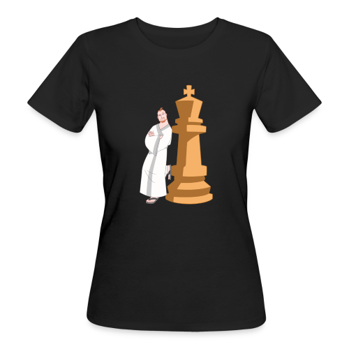 Samurai with King - Women's Organic T-Shirt