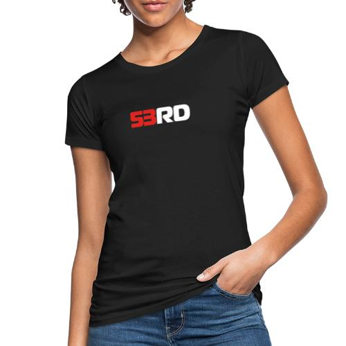 53RD Logo lang (weiss-rot) - Frauen Bio-T-Shirt