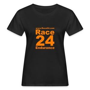 Race24 Logo in Orange - Women's Organic T-shirt