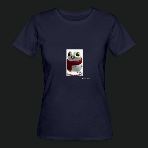 Merch white snow owl - Vrouwen Bio-T-shirt