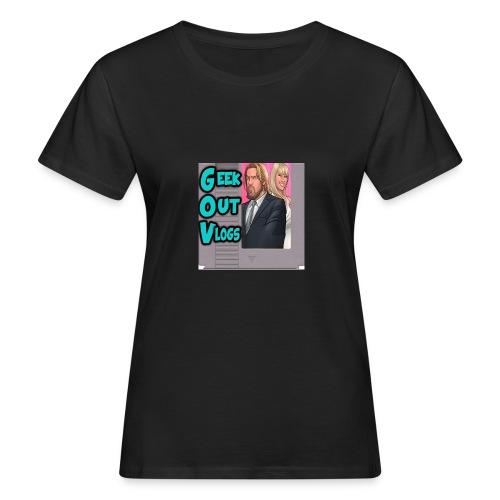 GeekOut Vlogs NES logo - Women's Organic T-Shirt