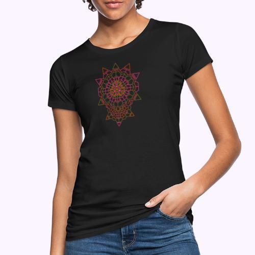 Kosminen kristalli takaisin miesten säiliö - Naisten luonnonmukainen t-paita