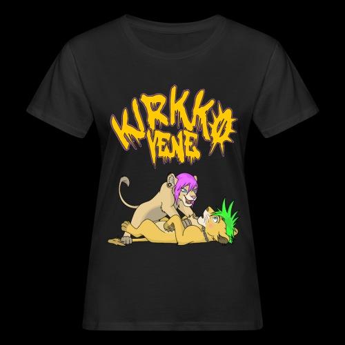 Nala ja Simba - Naisten luonnonmukainen t-paita