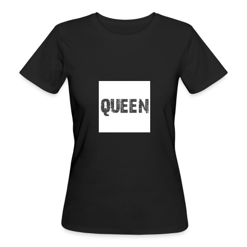 queen shirt - Vrouwen Bio-T-shirt