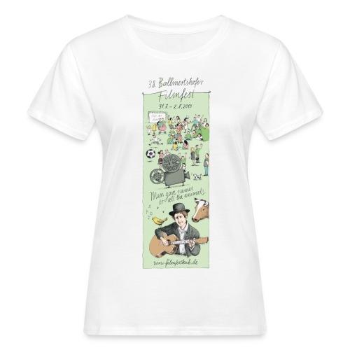 Motiv 2015 weiss - Frauen Bio-T-Shirt