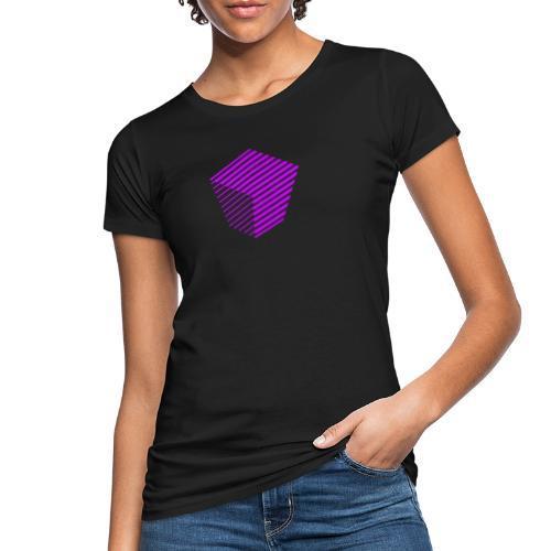 KUBUS Signature_purple - Frauen Bio-T-Shirt
