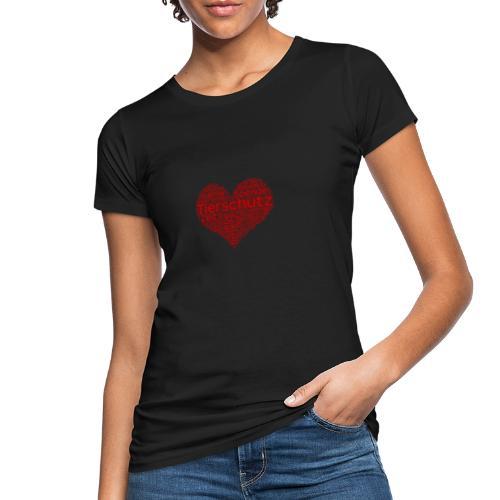Tierschutz - Frauen Bio-T-Shirt