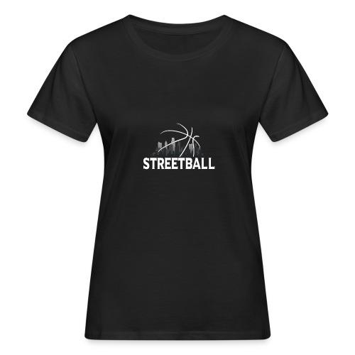 Streetball Skyline - Street basketball - Women's Organic T-Shirt