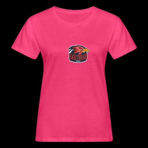 Sektion9 logo Rot - Frauen Bio-T-Shirt
