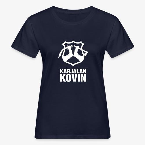 karjalan kovin pysty - Naisten luonnonmukainen t-paita