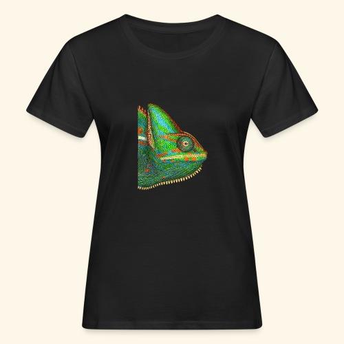 Chamäleon - Frauen Bio-T-Shirt