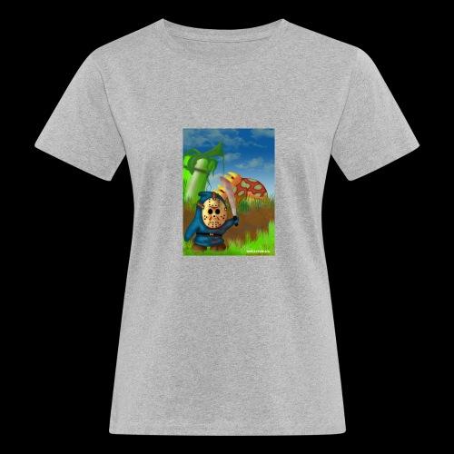 SuperMario: Not so shy guy - Vrouwen Bio-T-shirt