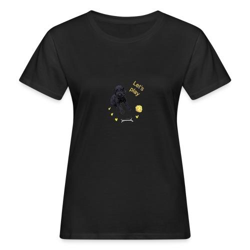 Giant Schnauzer puppy - Women's Organic T-Shirt